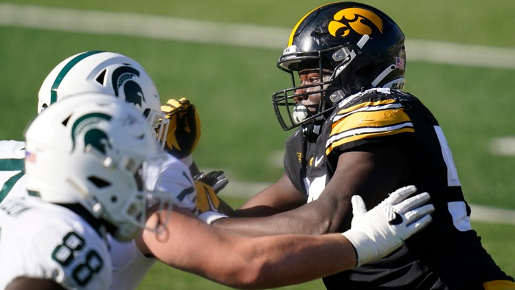 Hawkeye All-America DT Daviyon Nixon to declare for NFL draft