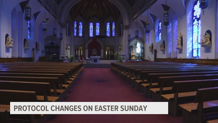 Easter 2021 means in-person services for many central Iowa churches