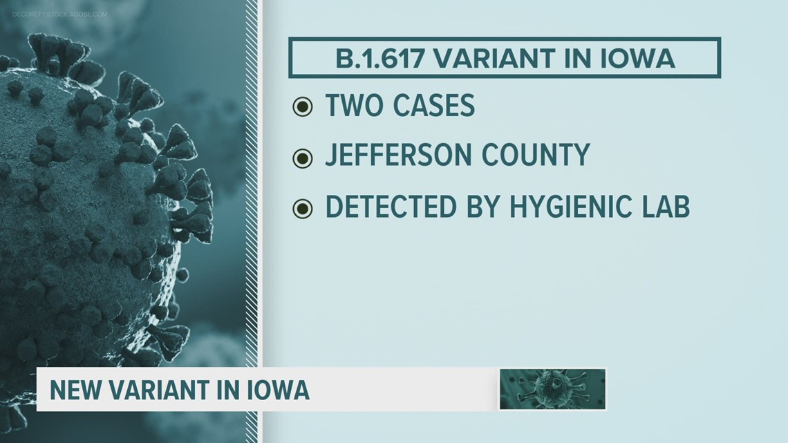 IDPH: 3rd COVID variant confirmed in the state, but not a 'variant of concern'