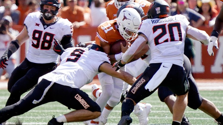 No. 8 Cowboys put perfect record on line against Iowa State