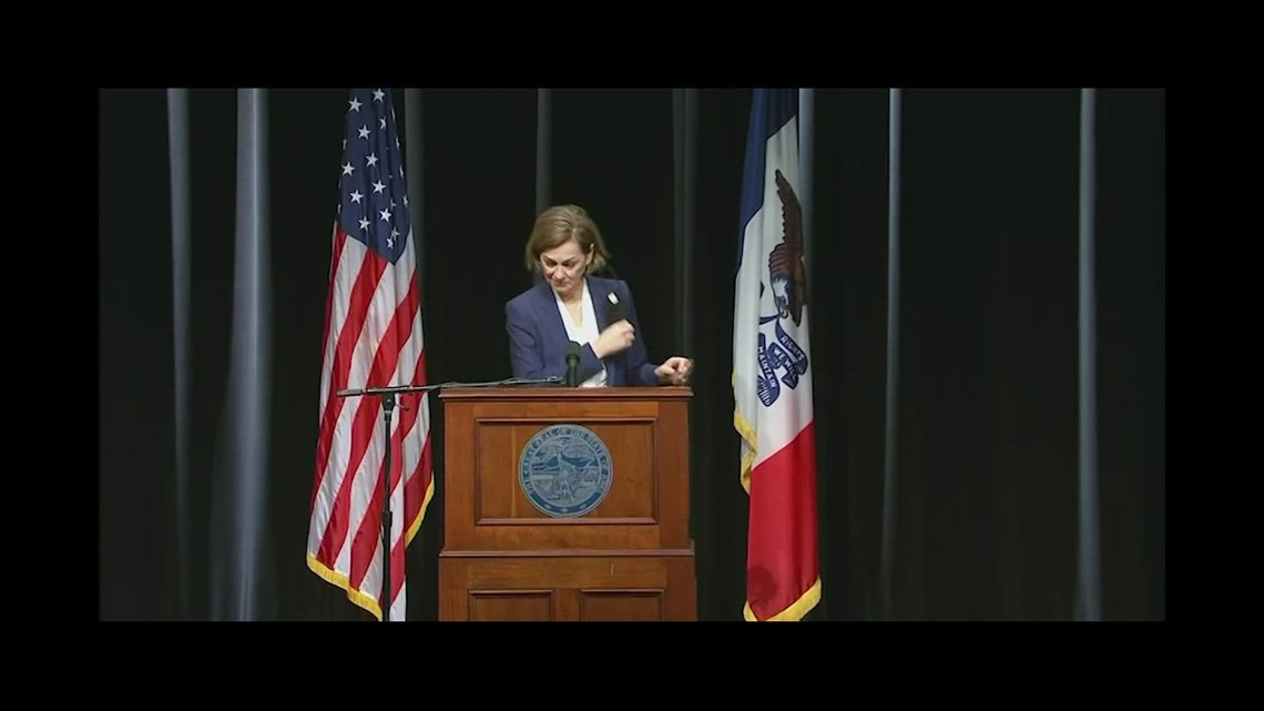 Gov. Kim Reynolds holds COVID-19 press conference (March 3, 2021)