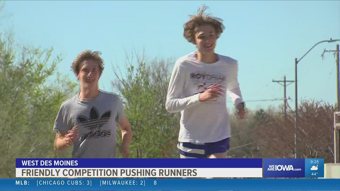 Dowling's top distance runners competition on the track rooted in their days playing chess