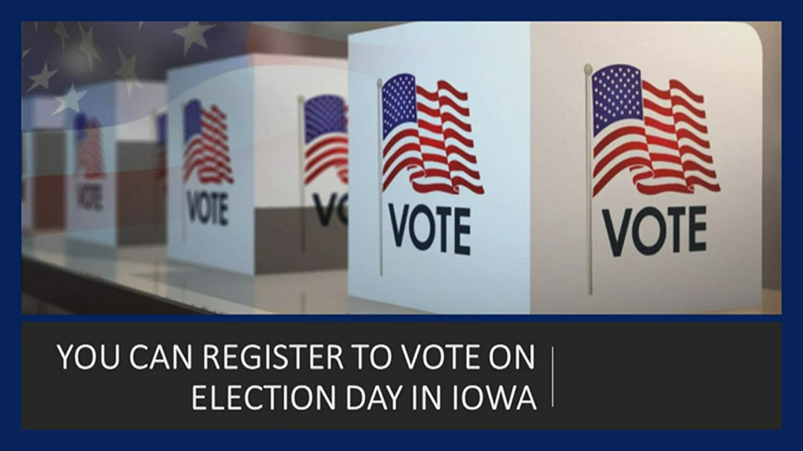 Same-day voter registration in Iowa, explained