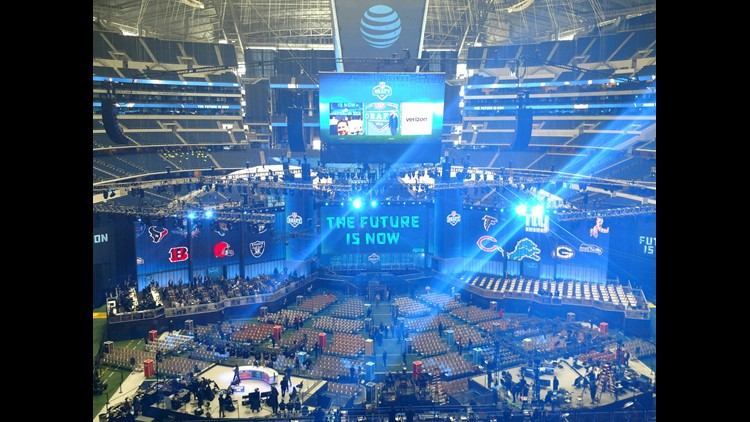 All eyes on Cowboys first pick at Jerry World