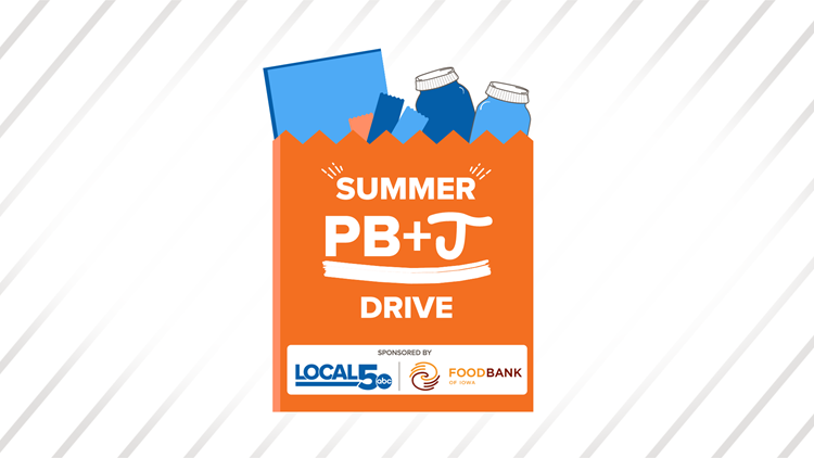 'Summer PB&J Drive' to benefit Iowans in Need