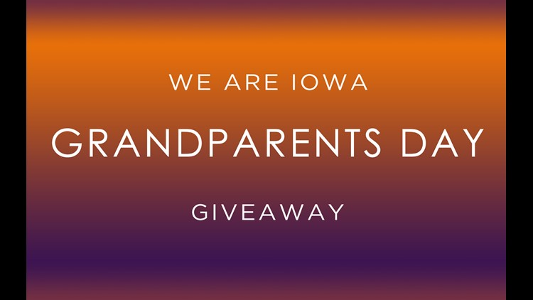 We Are Iowa's Grandparents Day Giveaway