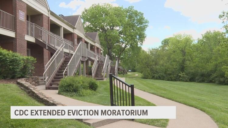 CDC extends eviction moratorium through July 31