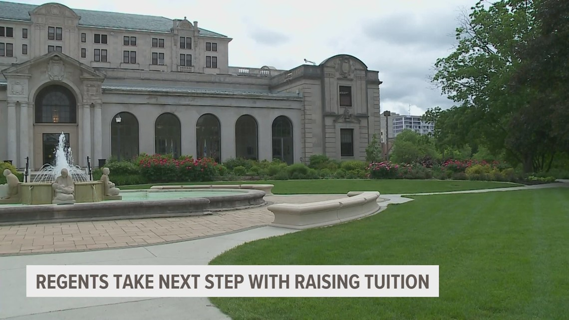 Tuition increases proposed for Iowa's public universities