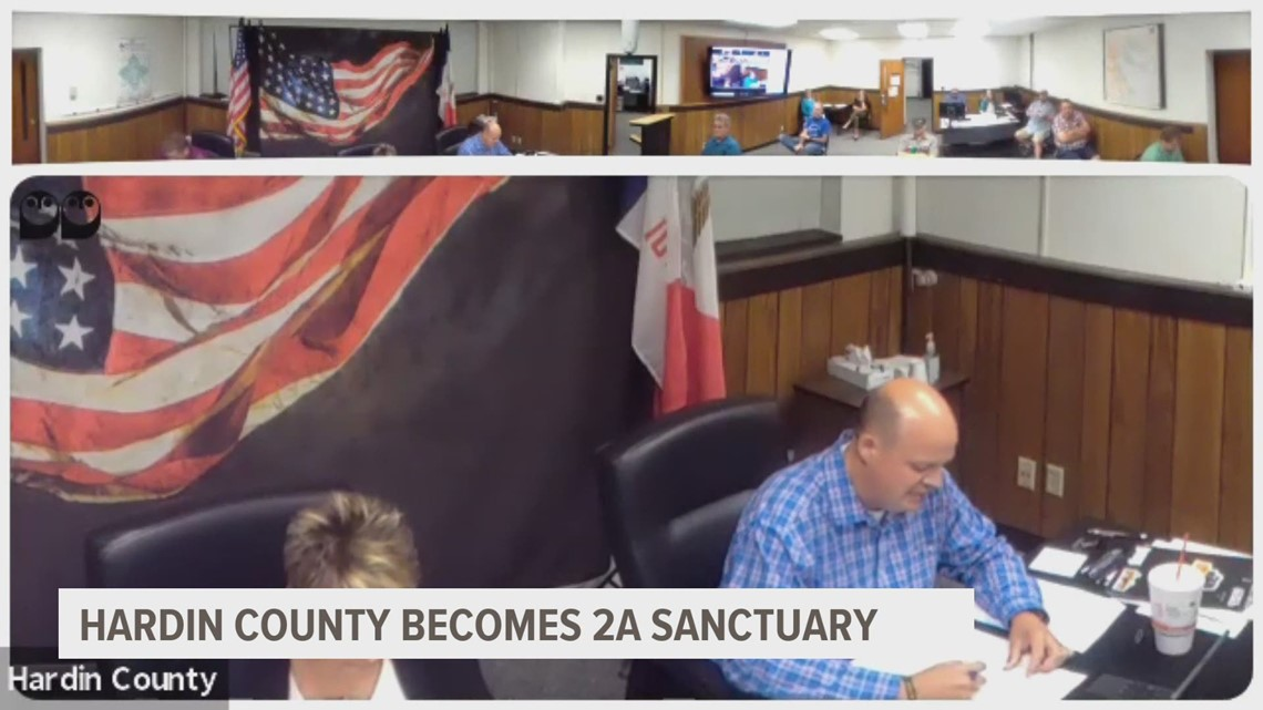 Hardin joins Jasper County as Second Amendment sanctuary. Now, Madison County sheriff, attorney demand the same.
