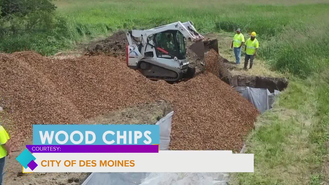 City of Des Moines installing Bioreactor Pits to improve water quality