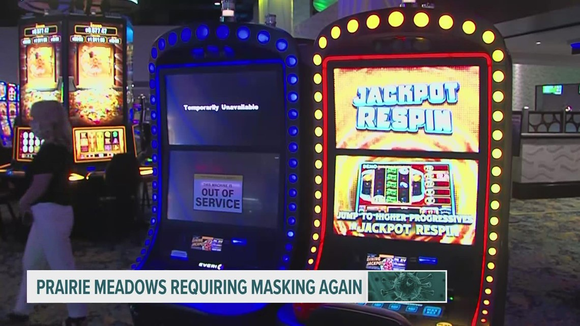 The latest: Prairie Meadows Casino, Science Center of Iowa bring back mask requirements