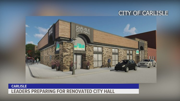 Carlisle city leaders share the latest on city hall renovation