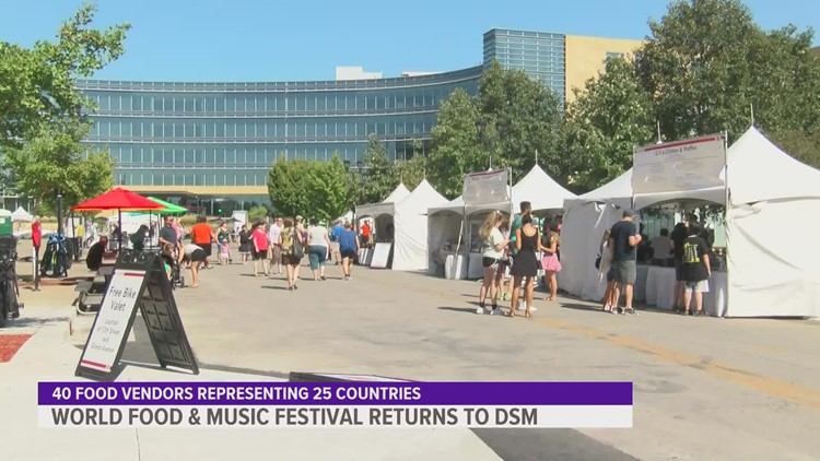 World Food & Music Festival brings global tastes to Iowa
