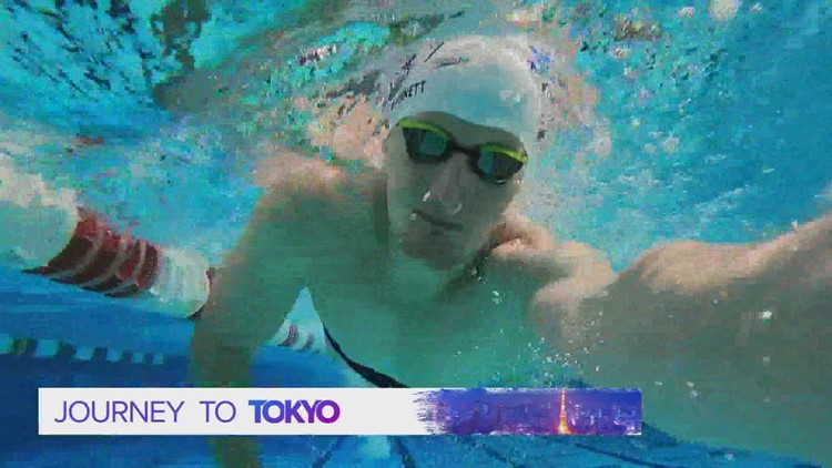 Johnston swimmer hoping to qualify for Summer Olympics in Tokyo