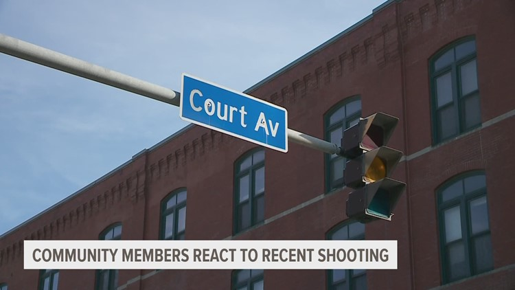 Des Moines police investigate 3rd shooting around Court Avenue District since April