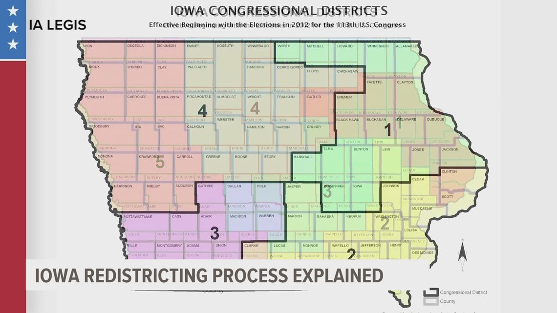 Iowa's voting districts will change this year: so how does redistricting work?