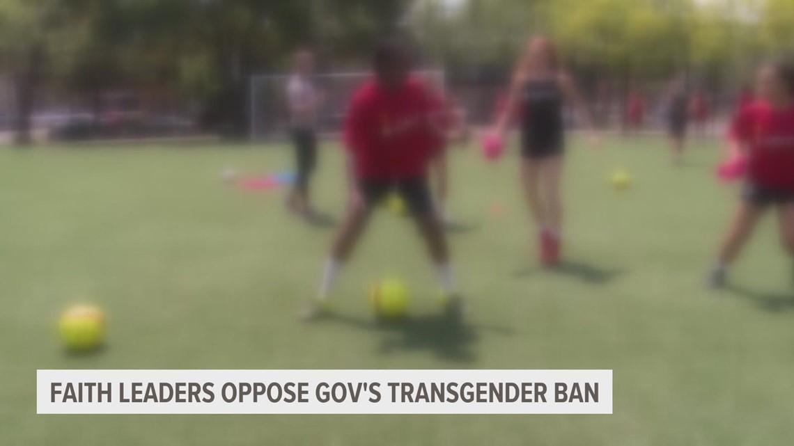 Faith leaders speak out against trans sports bill in Iowa