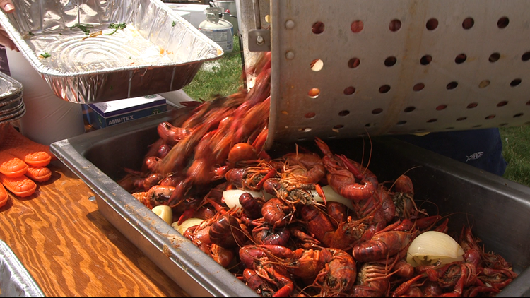 700 pounds of cooked crawfish at Cajun Fest raise $70,000 for youth non-profit