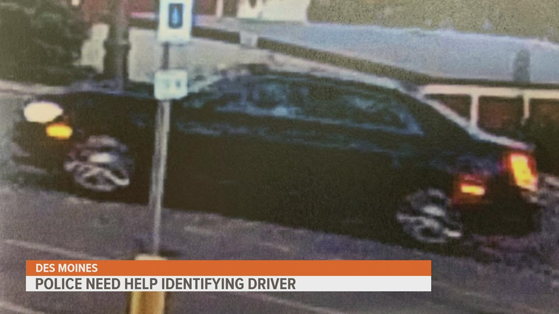 Des Moines police searching for driver after hit-and-run sends man to the hospital