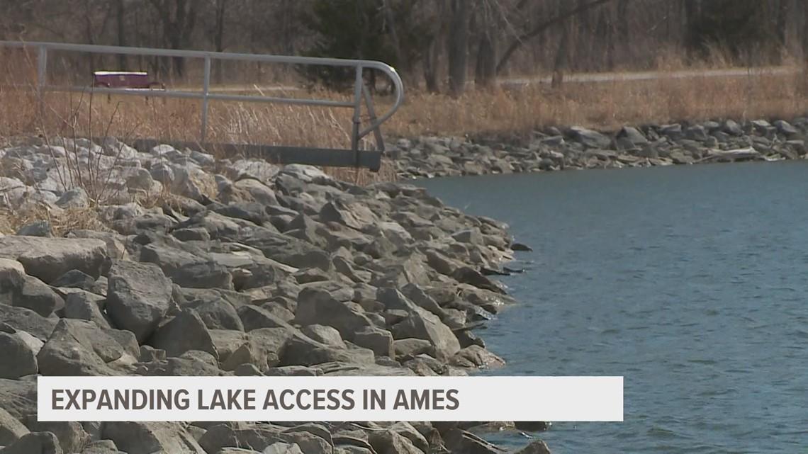 Ames residents make final push to expand access at Ada Hayden Lake