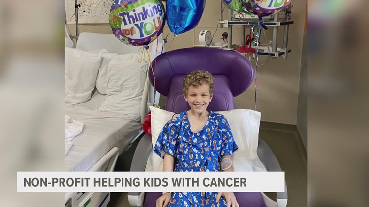 Eight-year-old survivor part of 'Kid Cancer Crushers' movement