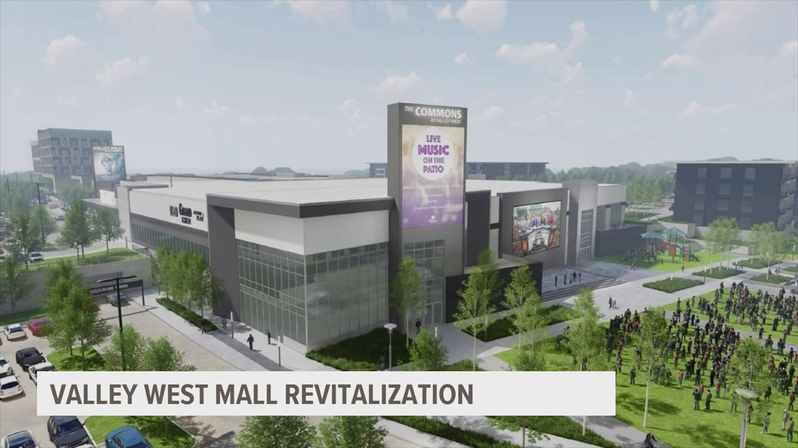 West Des Moines releases development plan for Valley West Mall