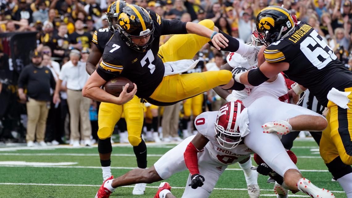 Iowa Hawkeyes Defense dominates in win over Indiana