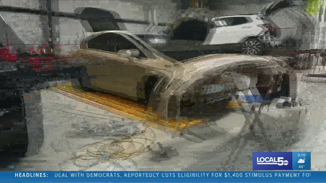 Car repair blues: Drivers fixing damage caused during winter storms