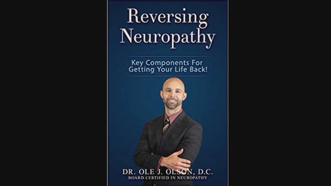 Free Peripheral Neuropathy Seminar and Free Book offer from Dr. Ole Olson