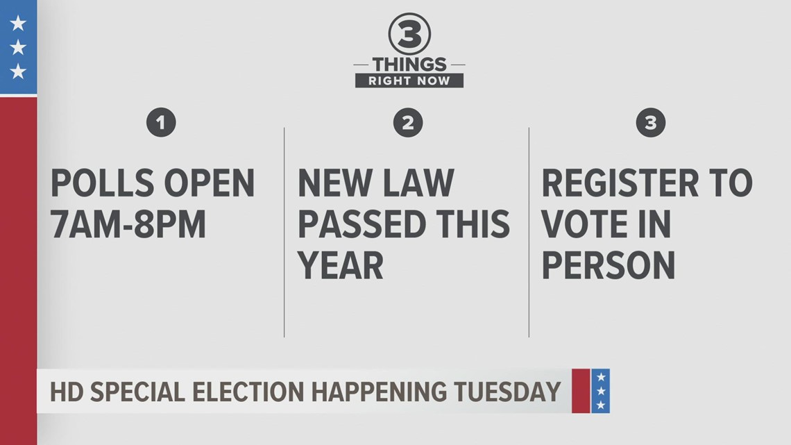 Tuesday is Election Day for voters in House District 37