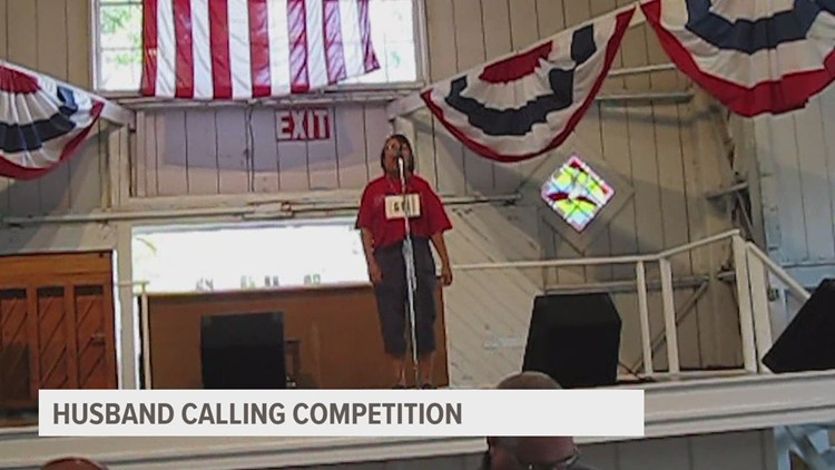 Husband calling champ reminisces Iowa State Fair win, looks forward to this year's competition