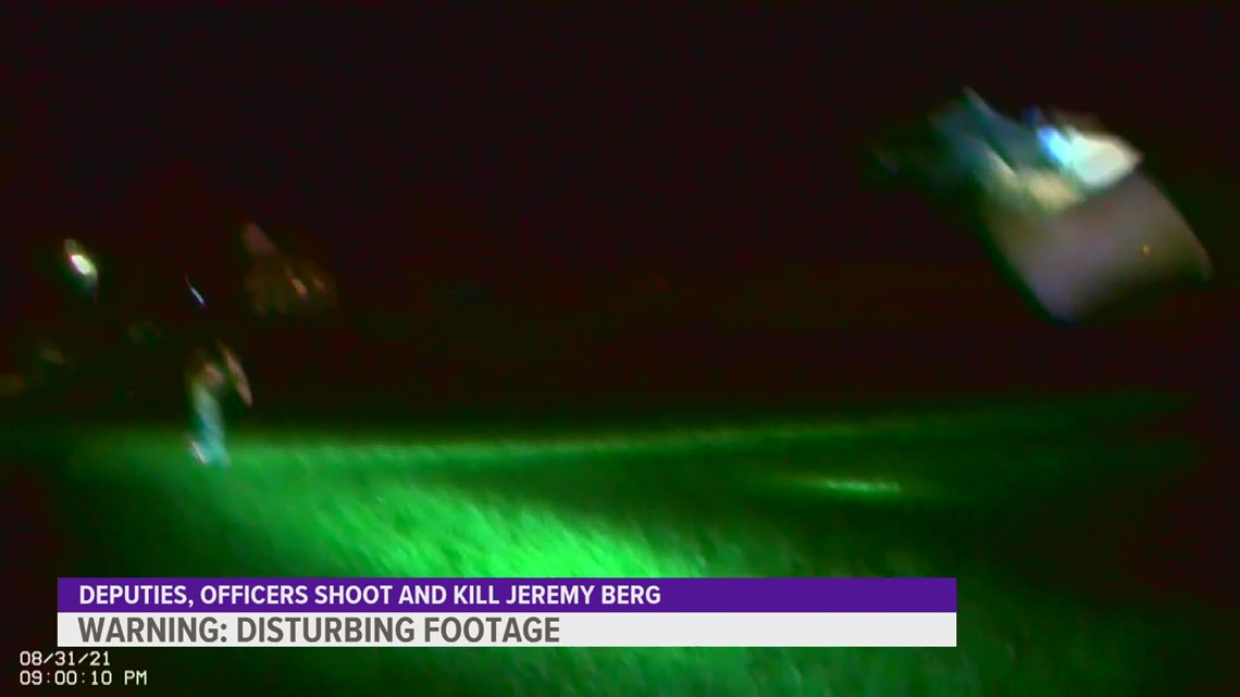Body camera footage shows man shot, killed by law enforcement in Jones County
