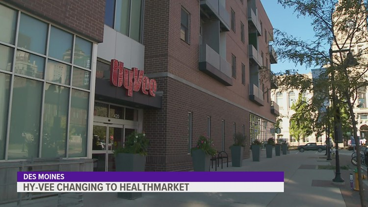 Downtown Des Moines Hy-Vee to be converted into HealthMarket