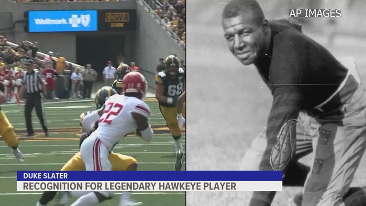 AP sources: Iowa plans to name football field for Duke Slater