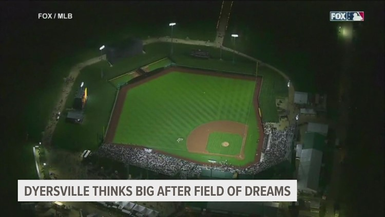 Dyersville leaders thinking big following first Field of Dreams MLB game