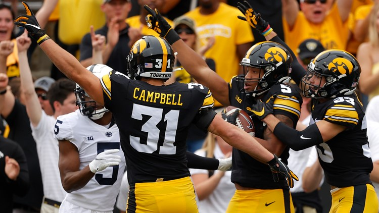Hawkeyes commend Kinnick Stadium crowd for being 'on another level' Saturday vs. Penn State
