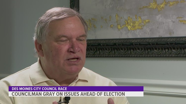 Meet the candidates: Bill Gray running for reelection in Des Moines City Council race