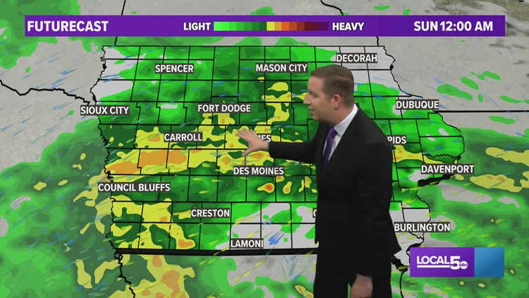 Evening Weather Update: May 8, 2021