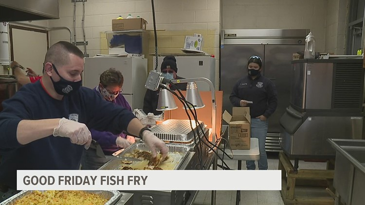 West Shore Bureau of Fire hosts annual Good Friday fish fry