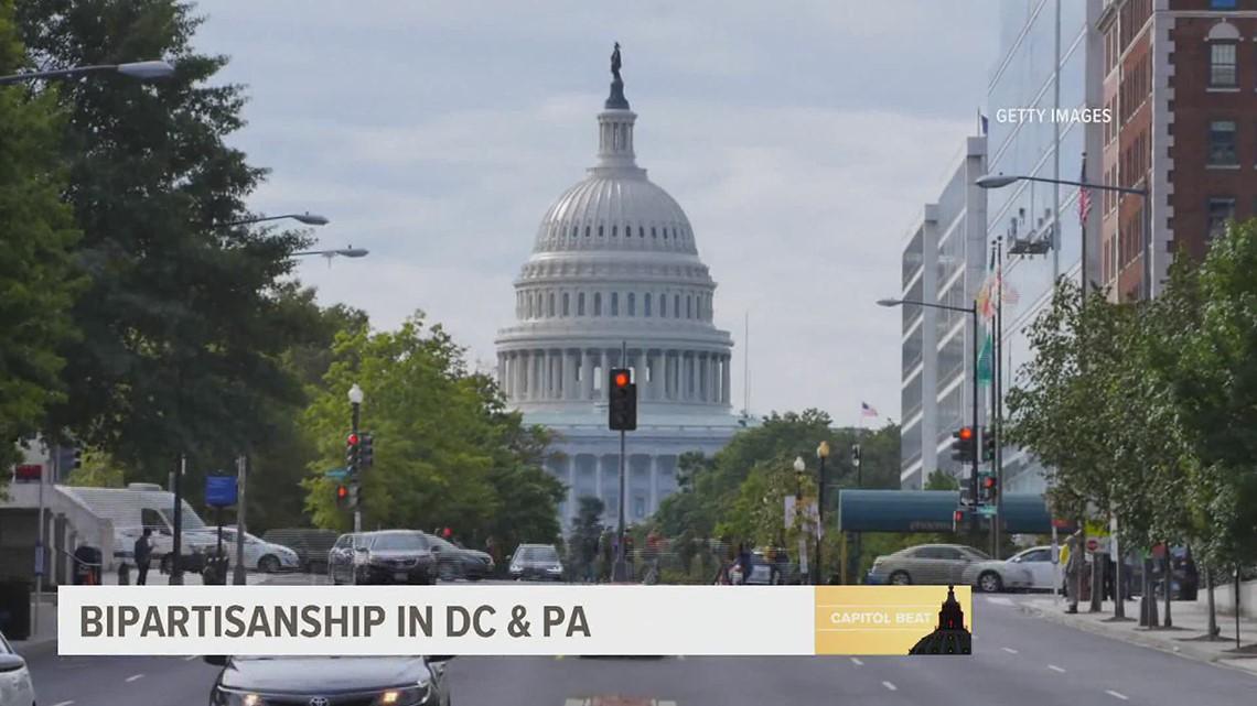 Bipartisanship in DC & PA