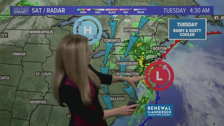 Tuesday morning forecast 10-26-21