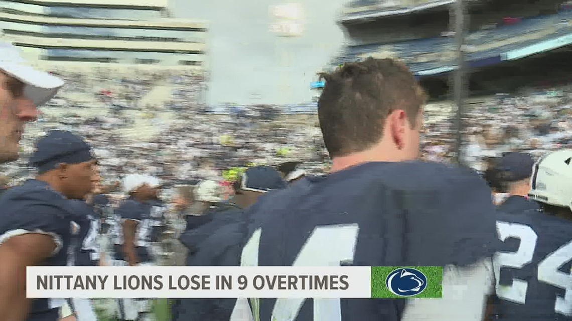 Homecoming Horror Story for Nittany Lions