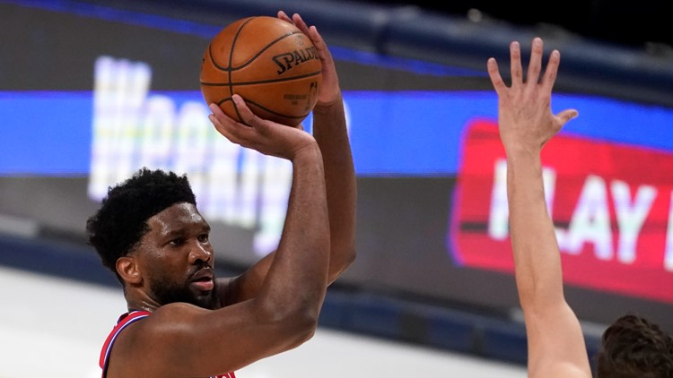 Embiid scores 36, 76ers overpower Mavs 113-95 with Nets next