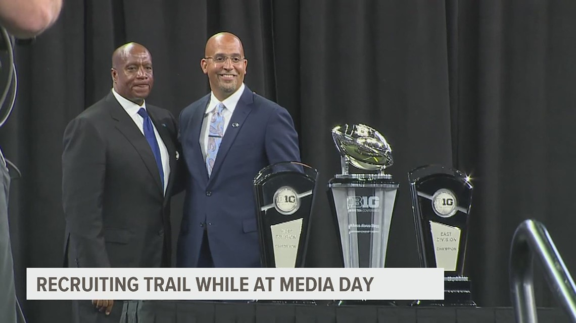 Lions continue hot recruiting trail while at Big Ten Media Days