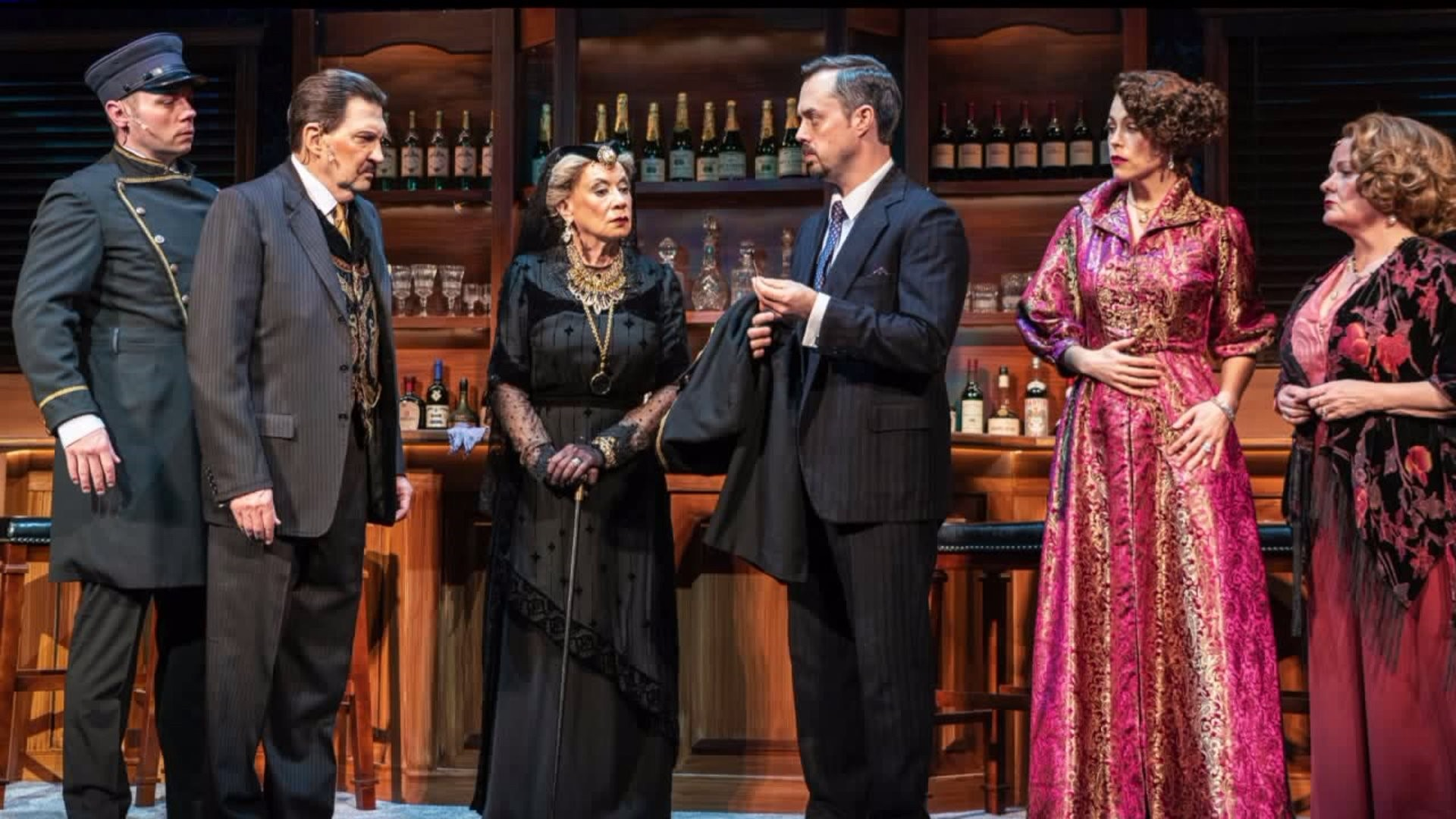 Watch Cast Members Of The Fulton Theatre S Murder On The Orient