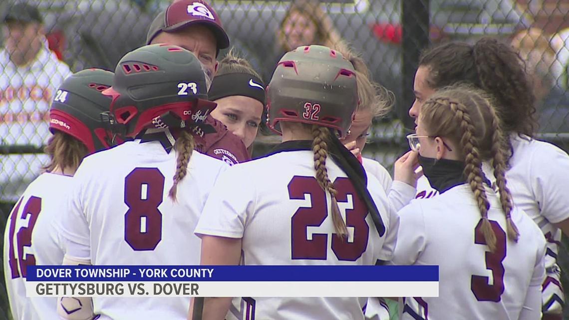 Gettysburg tops Dover in slugfest, 25-22