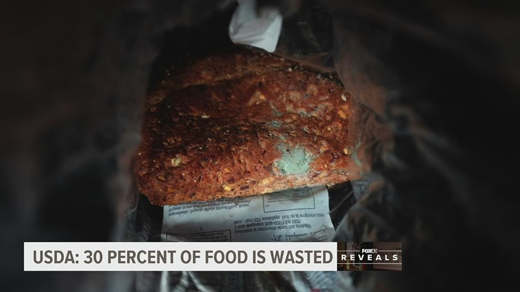 Americans waste a lot of food. Here's what can be done | FOX43 Reveals