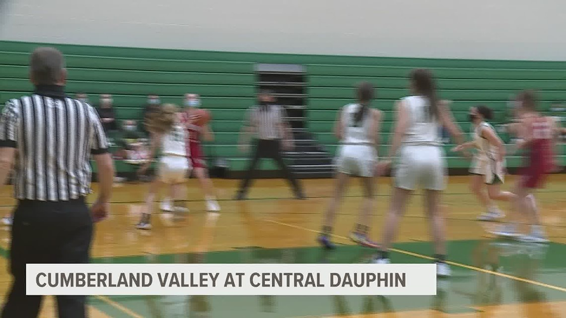 Cumberland Valley comes back to beat Central Dauphin