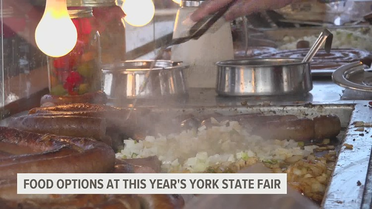 A guide to your favorite food at the York State Fair