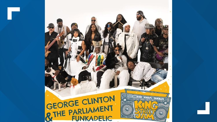 George Clinton, Rob Base, Mya among national acts set to perform in York Saturday during 'King Street Jam' music festival